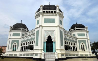 Al Mashun Historical Mosque of Medan