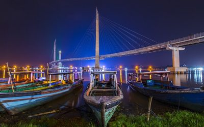 Batanghari Pedestrian Bridge