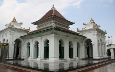 Historical Grand Mosque of Palembang