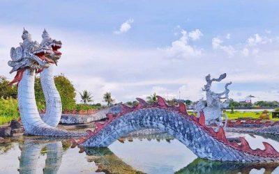 Pulau Kumala di Sungai Mahakam