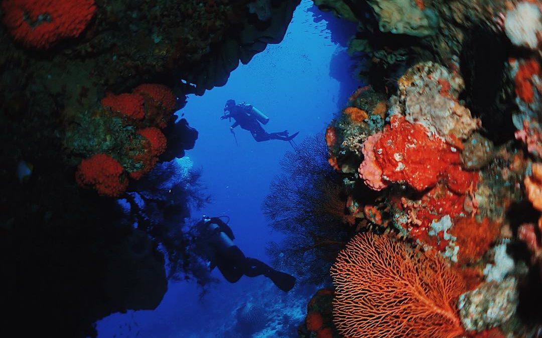 Hukurila Underwater Cave