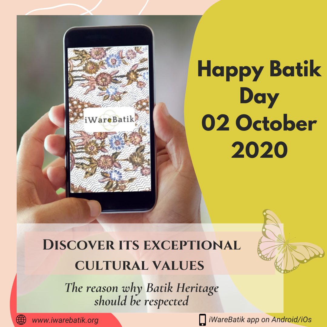 Happy Batik Day 2020! iWareBatik in Conversation with Indonesian Ministry of Education and Culture