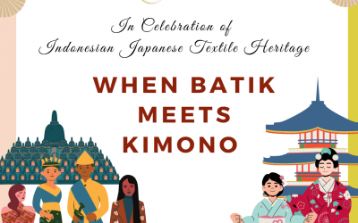 When Batik Meets Kimono, The Memory of Indonesian Japan Batik Talkshow