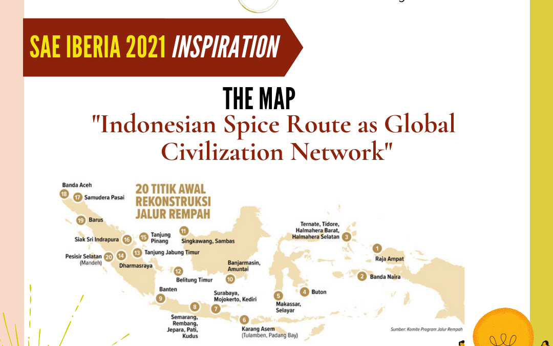 Indonesian Spice Route as Global Civilization Network at Symposium of America European Regions 2021